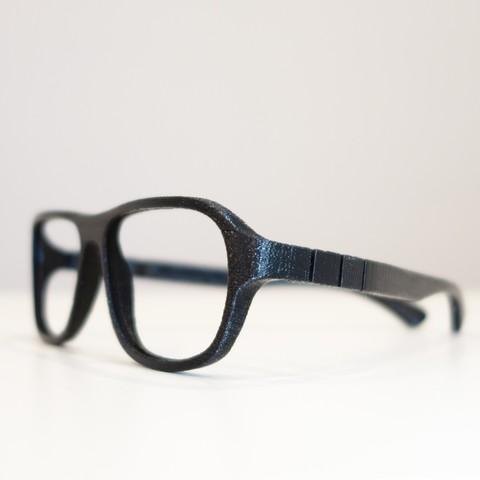 Free 3D printer file VirtualTryOn.fr - 3D Printing Glasses - Steve v2, VirtualTryOn_fr
