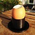 Download free STL file Egg-cup • 3D printable design, abuky