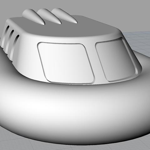 Hovercraft-render.png Download free STL file Hovercraft • Model to 3D print, abuky