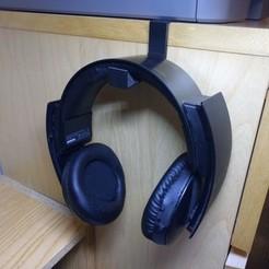 Download free 3D model Headset under holder, mashirito