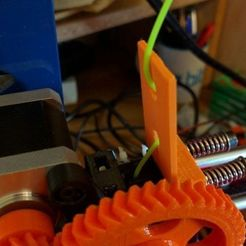 Download free 3D printer designs Greg's wade extruder filaflex tensor, mashirito