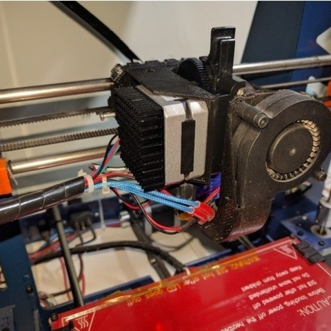 7004347f9f6e1d8670749c994bceffd1_preview_featured.jpg Download free STL file Titan + bltouch mount compatible with greg's carriage • 3D print model, mashirito