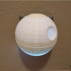 Deathstar baby night light15.jpg Download free STL file Deathstar baby night light • 3D printing template, mashirito
