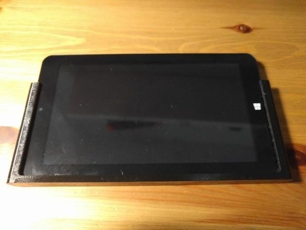 "9aa40d0c76e98e4c87a8c66e60260dd1_preview_featured.jpg Download free STL file 7"" tablet holder for i3-steel control • 3D printer model, mashirito"