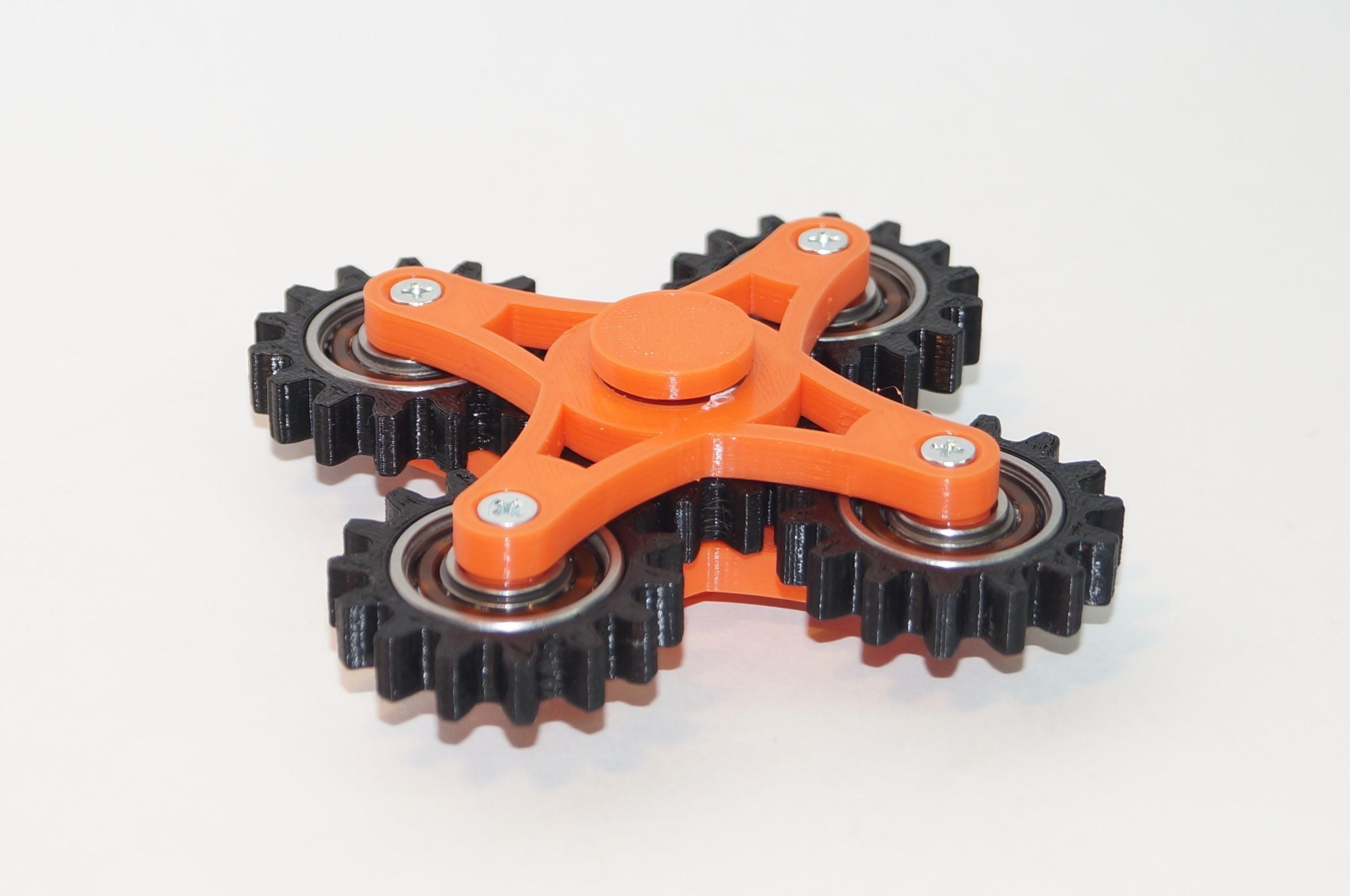 DSC06471.JPG Download free STL file New Hand spinner five gears • 3D printable design, Vladimir310873