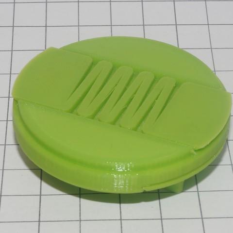 DSC06554.JPG Download free STL file Крышка объектива 55мм фотоаппарата SONY • 3D print design, Vladimir310873