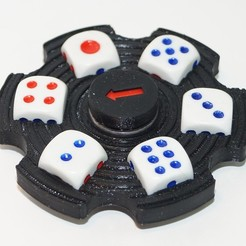 Free 3D file Hand spinner random number generator, Vladimir310873