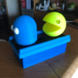 Free STL file Retro game night light - Pac man and ghost, Hex17