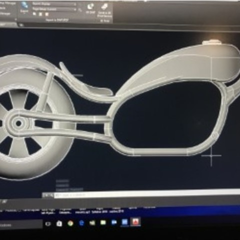 5fc836a5a65b28d55214d28be5927737_preview_featured.jpg Download free STL file Motorbike fun design • 3D printing design, Hex17