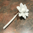 Télécharger STL gratuit Fleur, Hex17