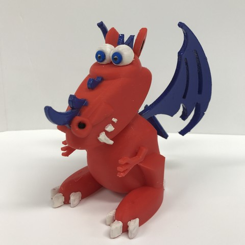 Download free STL file Dragon • 3D printable model, Hex17