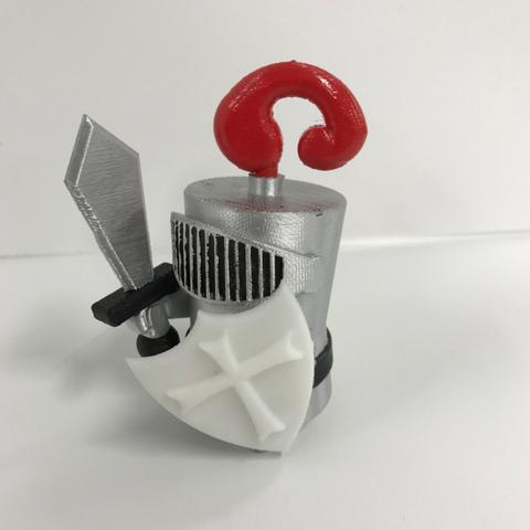 Free 3D print files Knight Shield, Hex17