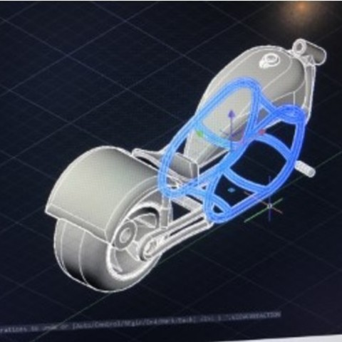 7aae51bb1e0f26df355fbcaa16f5c1db_preview_featured.jpg Download free STL file Motorbike fun design • 3D printing design, Hex17