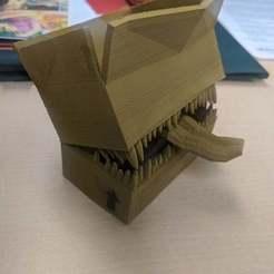 Download free 3D printer files Cardboard Box Mimic, Erdrick