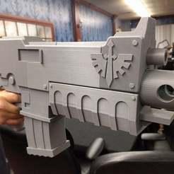 IMG_20170105_212507.jpg Télécharger fichier STL gratuit Warhammer 40k Bolter • Plan à imprimer en 3D, Erdrick