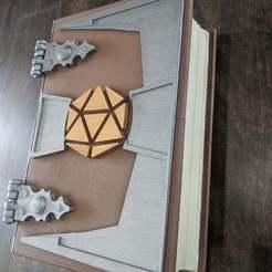 IMG_20200430_103807.jpg Download free STL file Secret Lock Tablet Book • 3D printing model, Erdrick