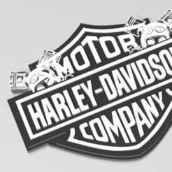 Descargar modelos 3D para imprimir Llavero Harley Davidson, Tazmaker