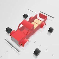 Download 3D printing designs hot rod truck, Tazmaker