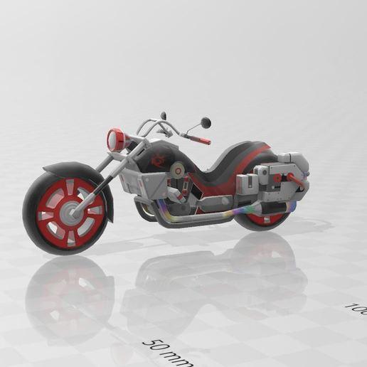 Download free 3D printer templates motorcycle, Tazmaker