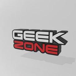 Télécharger fichier imprimante 3D Geek zone lightbox, Tazmaker
