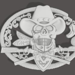 1.png Download STL file skull decoration • 3D printer template, Tazmaker