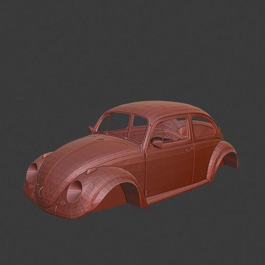 Télécharger plan imprimante 3D Volkswagen cox coccinelle, Tazmaker