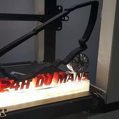 Télécharger fichier imprimante 3D circuit 24H du mans, Tazmaker