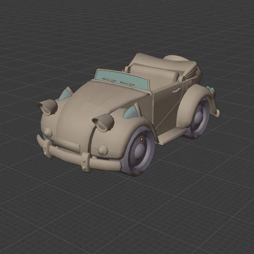 Download free 3D printer model Sonic car (amy), Tazmaker