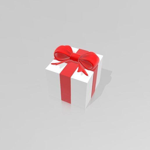 """Télécharger fichier 3D gratuit boite """"cadeau"""", Tazmaker"""
