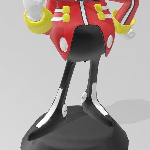 Download free 3D printer model Sonic (Dr. Eggman), Tazmaker