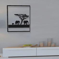 Télécharger fichier STL cadre elephant , Tazmaker