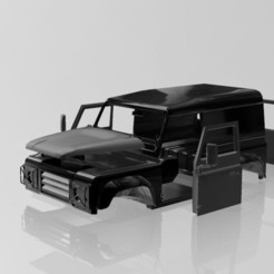 Download free OBJ file Land rover • 3D printable template, Tazmaker