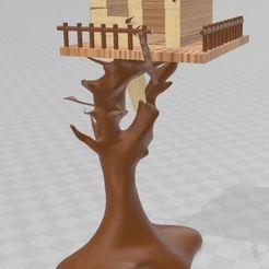 Télécharger plan imprimante 3D Cabane délabrée, Tazmaker