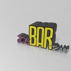 Télécharger modèle 3D Joe bar team light box, Tazmaker