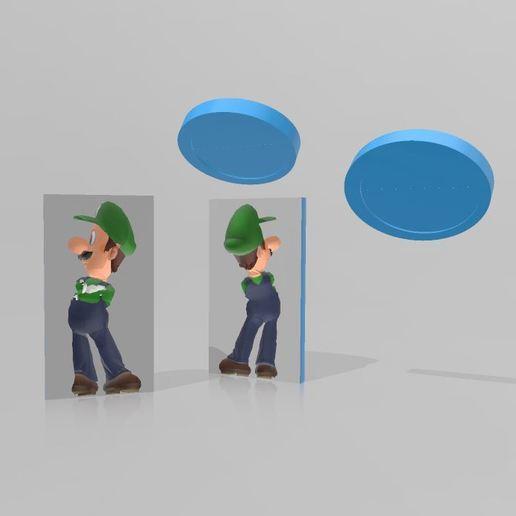 Télécharger plan imprimante 3D Moule Luigi, Tazmaker