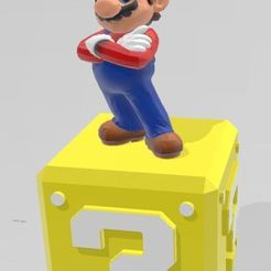 Download free 3D printer templates mario figurine, Tazmaker