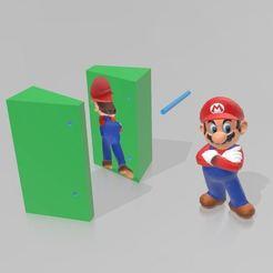 Descargar modelo 3D Moldes Mario, Tazmaker