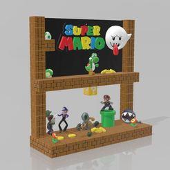 Télécharger STL gratuit Scene Mario, Tazmaker