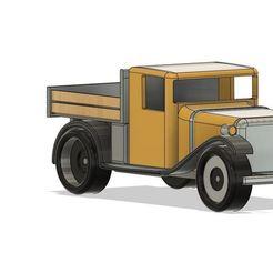 3.JPG Télécharger fichier STL vieux camion de ferme  • Modèle pour impression 3D, Tazmaker