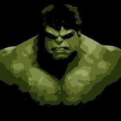 Download 3D printing templates Hulk Stencil, Tazmaker