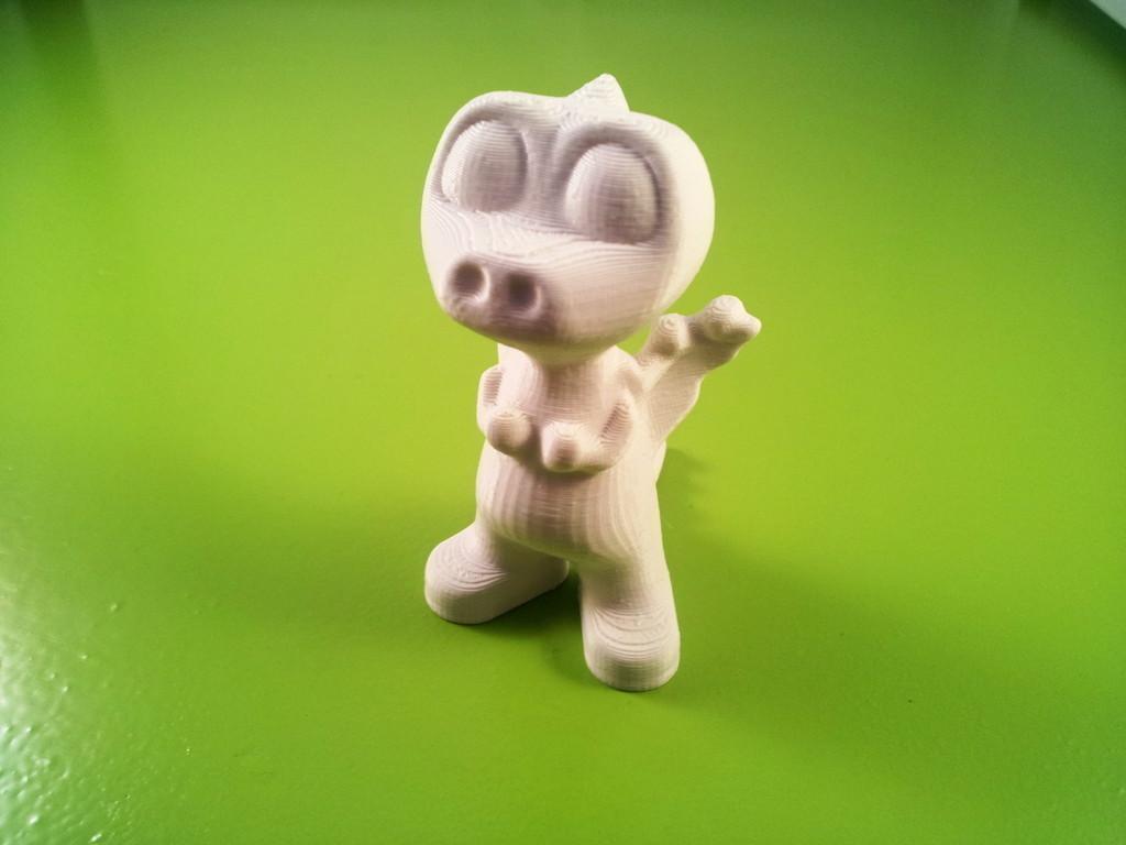 1.jpg Download free STL file Dorus the Dragon • 3D printable template, macouno