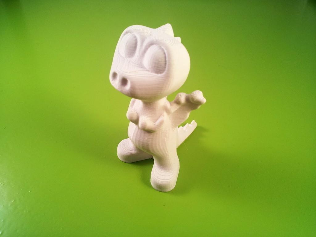 2.jpg Download free STL file Dorus the Dragon • 3D printable template, macouno