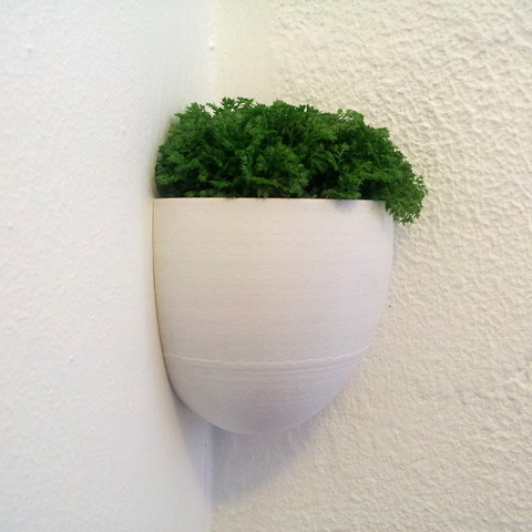 1.jpg Download free STL file Little Planter • 3D print model, macouno