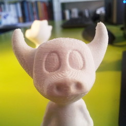 Free 3D printer files Manus the Minotaur, macouno