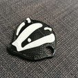 2017-03-29 08.56.23.jpg Download free STL file Badger keychain • 3D printing object, macouno