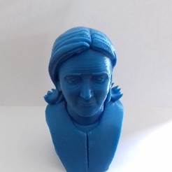 Free Marine Le Pen 3D printer file, nicodem6087