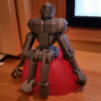 Download free STL files Print-in-place articulated figure: Zippityboombot!, Zippityboomba