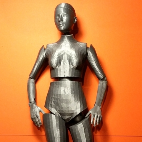 Free 3d printer files Venus de Polylactide, Zippityboomba