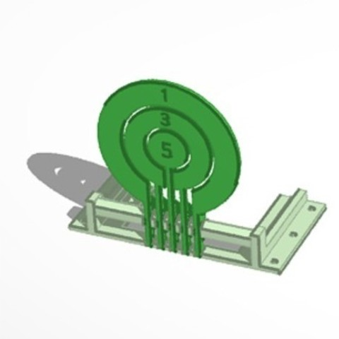 36df61d8f0c92a948c2172de085bcd63_preview_featured.jpg Download free STL file Print-in-place target spinners • 3D print model, Zippityboomba