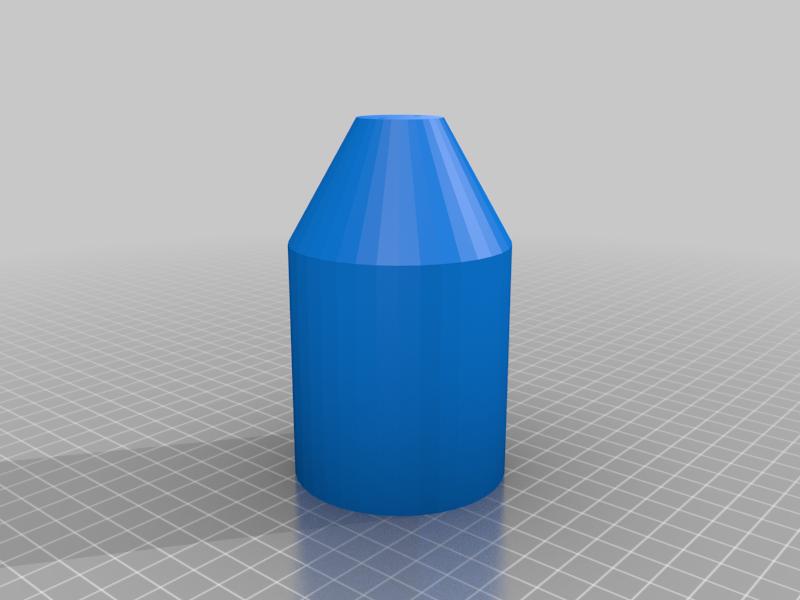 Pot_V2_Double_Hole.png Télécharger fichier STL gratuit Peintre au pendule • Plan imprimable en 3D, Zippityboomba